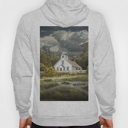 Old Mission Point Lighthouse in Early Autumn Hoody