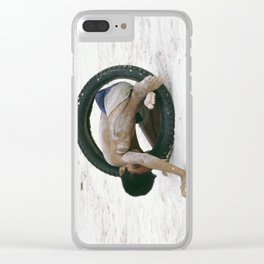 Well Tyred! Clear iPhone Case