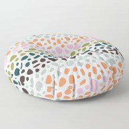 Poolside Terrazzo Floor Pillow