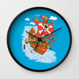 Why Cyclops Should Never Be Pirates Wall Clock