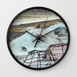 Crab Cages and The Cove Wall Clock