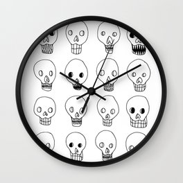 SKULLZ Wall Clock