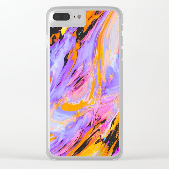 Dama Clear iPhone Case
