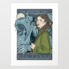 El Laberinto del Fauno (Pan's Labyrinth)  Art Print