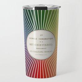 Chevreul Cercle Chromatique, 1861 Remake, renewed version Travel Mug