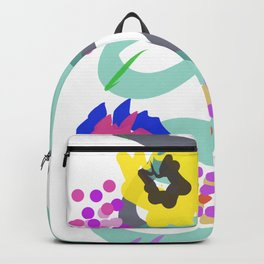 Abstract Garden Nr. 4 Backpack