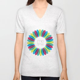 Me time. By Angelica Ramos Unisex V-Neck