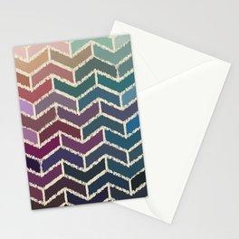 Chevron iKat Stationery Cards