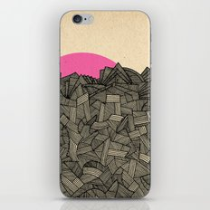 - obscure the pink shade of the sun - iPhone & iPod Skin