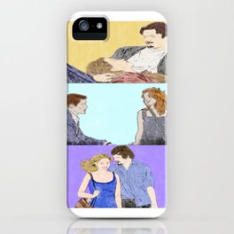 Before Sunrise Trilogy - Watercolor iPhone Case