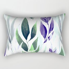 Leafage #01 Rectangular Pillow