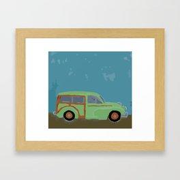 Minor in the Spring Framed Art Print