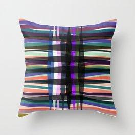 Graphic cor Throw Pillow
