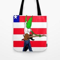 Bruce Stringbean Tote Bag