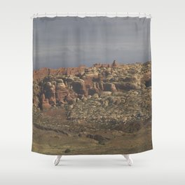 Hoodoo Panorama Shower Curtain