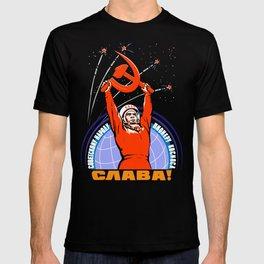 Soviet Propaganda. Yuri Gagarin T-shirt