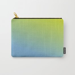 Ombre in Green Blue Carry-All Pouch