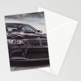 Sport Car Stationery Cards