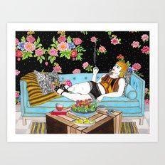Relax Time Art Print