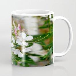 Pink & White Flowers Coffee Mug