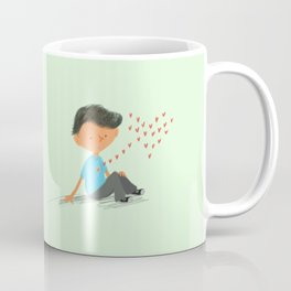 Boy in Love Coffee Mug