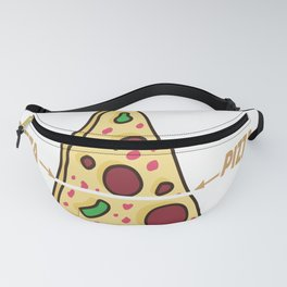 pizza hobby italy feed me pizza save the earth Fanny Pack