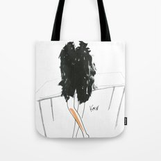 Stella - Cool Downtown Girl in Marker and Gouache Tote Bag