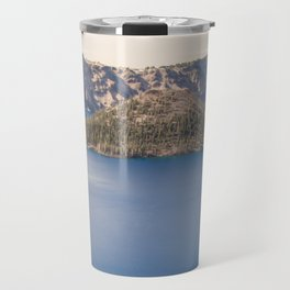 Wild Blue Lake Travel Mug