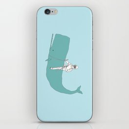 Save the whale iPhone Skin
