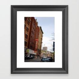 Thanksgiving in Cincinnati  Framed Art Print