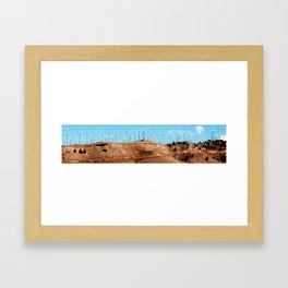 hill mills Framed Art Print