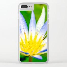 Flower macro Clear iPhone Case