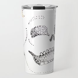 Daffodil Skull Travel Mug