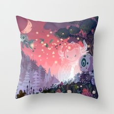 A Fleeting Respite Throw Pillow