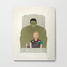 The Revengers Metal Print