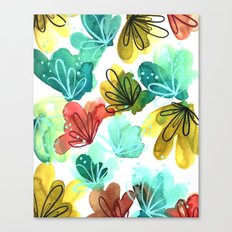Abstract Watercolor Canvas Print