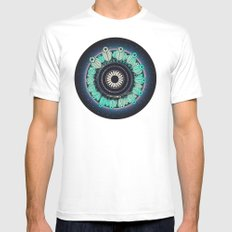 Cosmos MEDIUM Mens Fitted Tee White