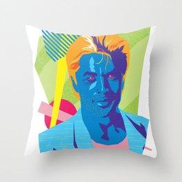 SONNY :: Memphis Design :: Miami Vice Series Throw Pillow
