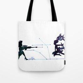 Battle field  Tote Bag