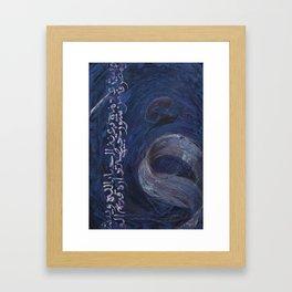 Hamza Framed Art Print