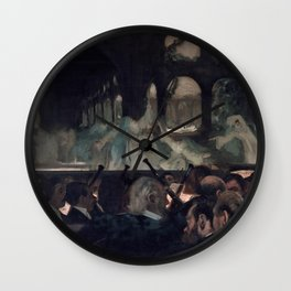 "The Ballet Scene from Meyerbeer's Opera ""Robert Le Diable"" Wall Clock"