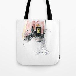 Winter street Tote Bag