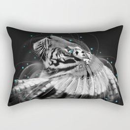 Don't Define the World (Chief of Dreams: Tiger ) Tribe Series Rectangular Pillow