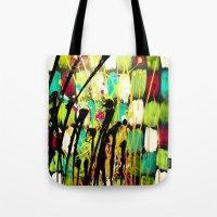 ruben ireland Tote Bags featuring Ruben by Del Otero Art