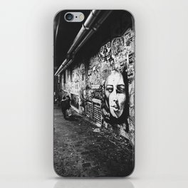 Seattle, Post Alley murals iPhone Skin