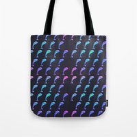 dolphin Tote Bags featuring Dolphin. by Daniel Montero