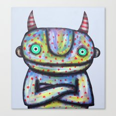 Devil with Good Intentions Canvas Print