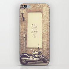 Keep the love alive iPhone & iPod Skin