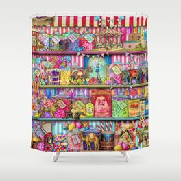 The Sweet Shoppe Shower Curtain