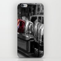 police iPhone & iPod Skins featuring Police by Michael Andersen